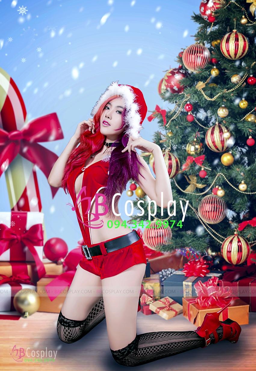 Trang Phục Noel Sexy Quyến Rũ