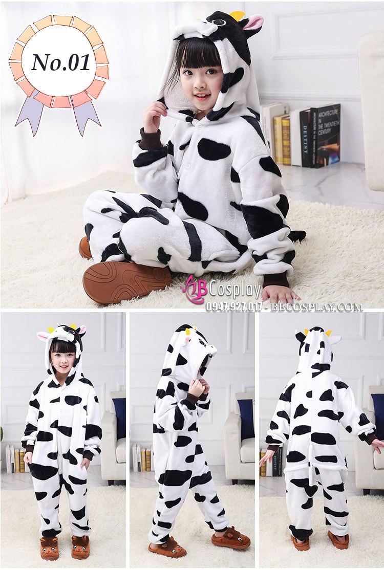 Đồ Thú Giá Rẻ Con Bò Sữa Loại Xịn